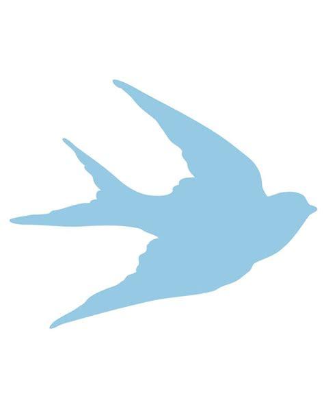 printable bird shapes 24 best bird shapes images on pinterest bird silhouette