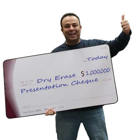 Big Check Presentation Cheque Reusable Giant Size Cheque Big Checks For Presentation