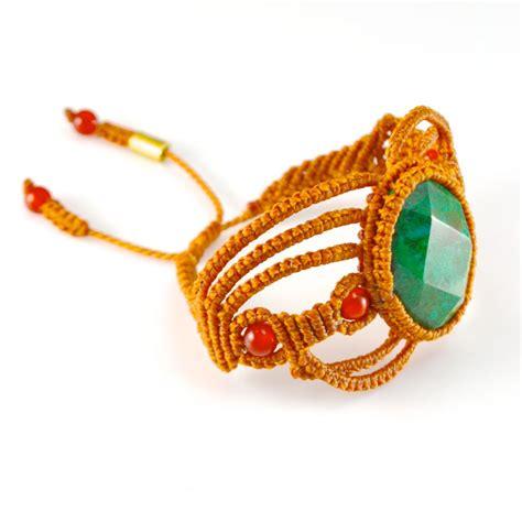 Macramé Bracelet Uywa by designer Coco Paniora Salinas