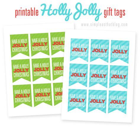 holly jolly christmas printable tags printable holly jolly christmas gift tags