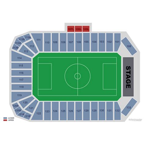 Toyota Stadium Frisco Seating Chart Us S National Soccer Vs Mexico National Soccer