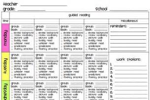 guided reading lesson plan template kindergarten free guided reading lesson plan template for kindergarten