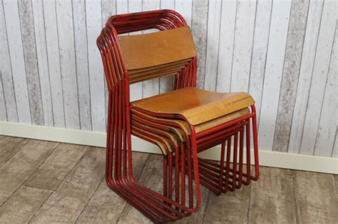 second hand school benches old stacking school chairs metal stacking chairs with red
