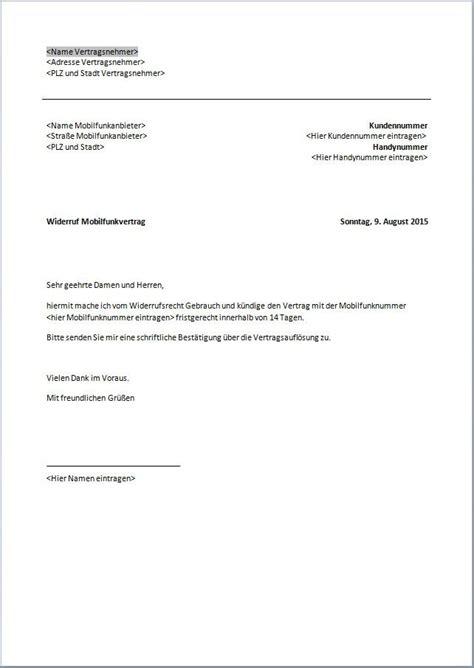 Kündigung O2 Vertrag Brief O2 K 252 Ndigung Vorlage K 252 Ndigung Vorlage Fwptc