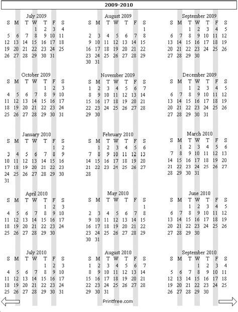 15 month calendar template 15 month calendar printable free calendar template 2016