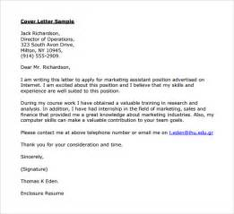 Sample Director of Operations Cover Letters   8  Free