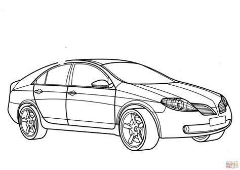 nissan cars coloring pages nissan coloring pages coloring nissan primera coloring page free printable coloring pages