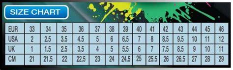 shoe size chart yonex badminton plaza dot com