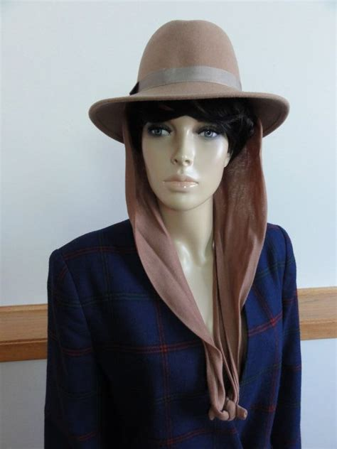 knitting pattern hat with scarf attached coupon code sale vintage geo w bollman co wool hat with