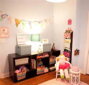 Room for kids bedroom for toddler girl in pastel colors