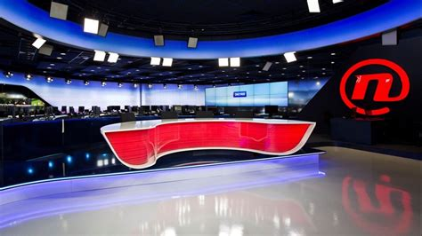 Tv Novax tv set design gallery