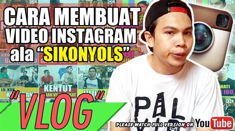 membuat vidio instagram cara mudah membuat video instagram itdare blog tell me