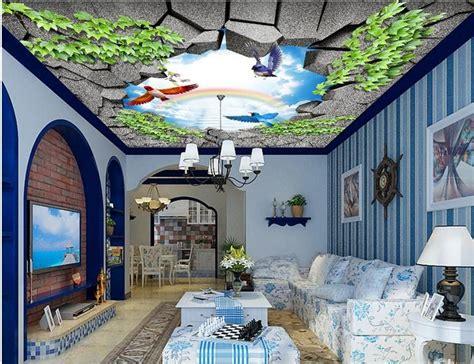 Papier Peint Plafond Trompe L Oeil by Papier Peint Plafond Trompe L Oeil Sedgu