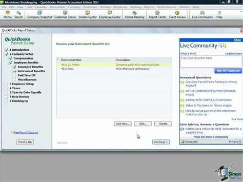 quickbooks enterprise tutorial youtube quickbooks tutorial setting up payroll in quickbooks pro