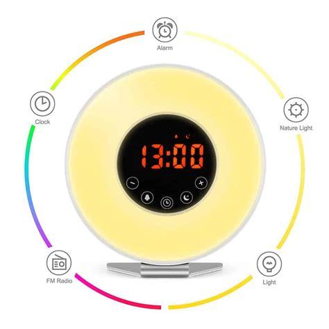 sunrise simulator alarm clock  night light