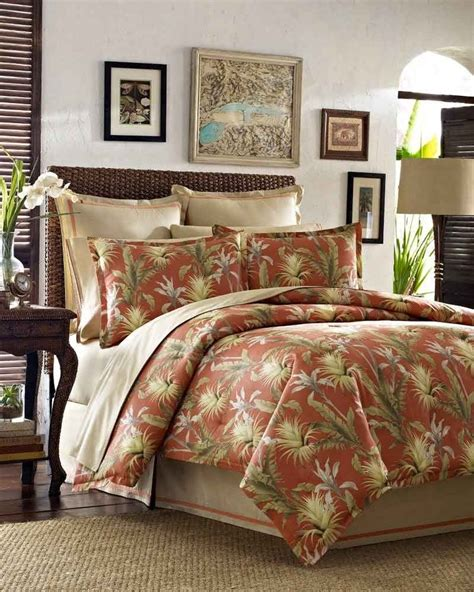 palm tree comforter sets 4 pc tommy bahama catalina king comforter set tropical