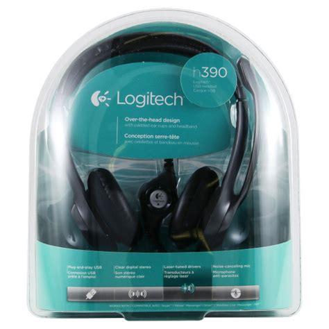 Logitech Headset H390 Usb logitech 174 usb headset h390 meijer