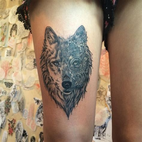 45 awesome wolf tattoo designs