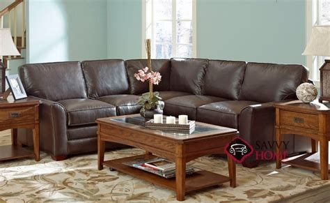 Leather Sofas Gold Coast by Gold Coast Leather True Sectional By Savvy Is Fully