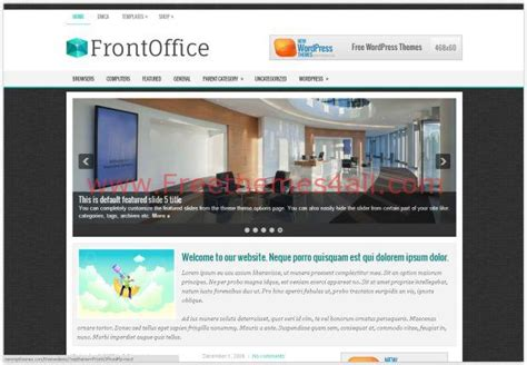 wordpress themes free office responsive business office wordpress theme