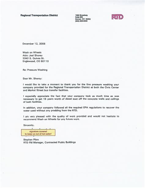 Endorsement Letter Sle For Application Endorsement Letter