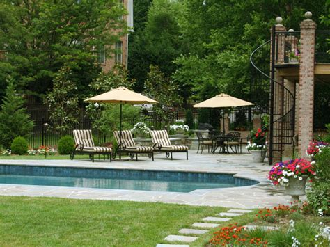 land design landscape architects inc swimming pool deck and spiral staircase contemporary