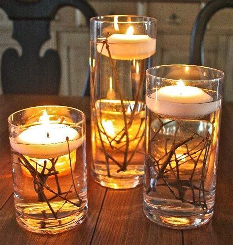 diy candle centerpieces diy candle centerpiece ideas lanai