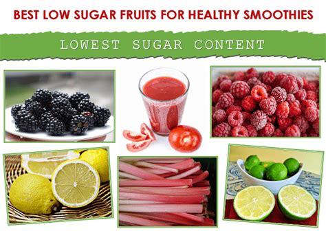 fruit with low sugar best low sugar fruits for smoothies smoothie fx
