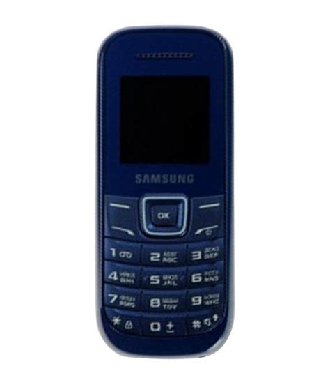 samsung guru e1200 indigo blue price in india buy
