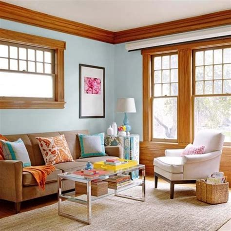 Paint Colors For Living Room With Oak Trim by Paint Colors For Rooms Trimmed With Wood Paint Colors