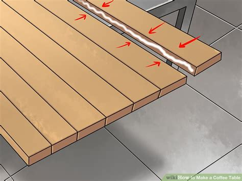 how to a table top how to a coffee table 15 steps with pictures wikihow