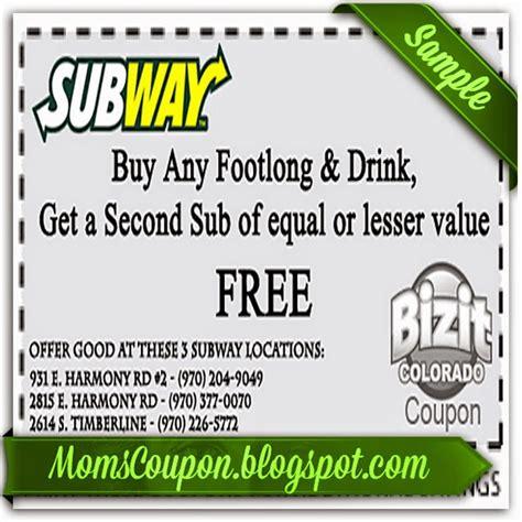 subway printable coupons arizona more ways to get coupons for subway free printable