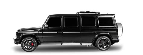 limousine vehicle mercedes g63 limousine inkas professional vehicle
