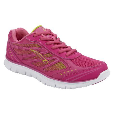 shop athletic shoes la gear s lightning running athletic shoe pink