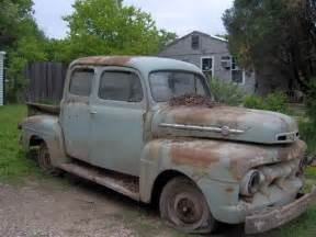 51 Ford Truck 51 Ford Trucks Abandoned Bit Of Rust And Every