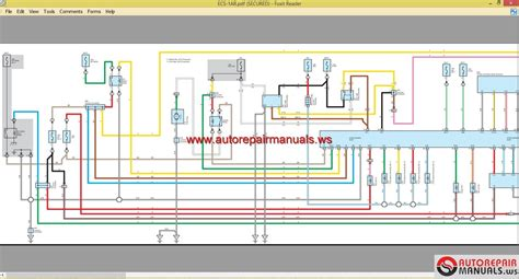 service manual pdf 2012 lexus lfa electrical wiring
