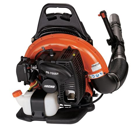 echo 233 mph 651 cfm 63 3cc gas backpack leaf blower with