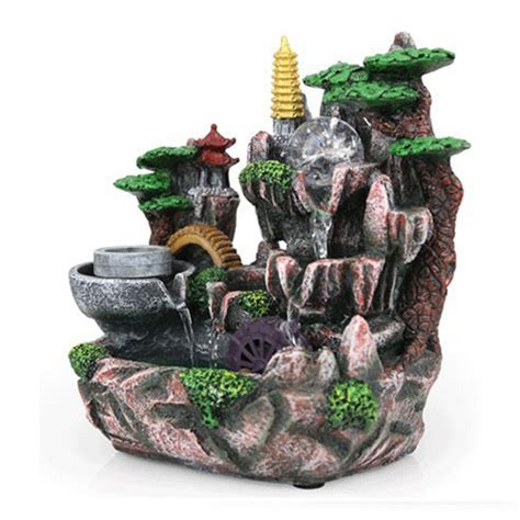 aliexpress buy 110v 220v resin decoration rockery