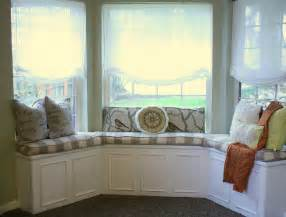 Kitchen Curtains For Bay Windows Inspiration Contemporary Kitchen Decors With Beautiful White Bay Kitchen Window Ideas Also Fabric Seater As