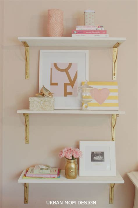 Gold Room Decor Blushing Pink Nurseries Project Nursery