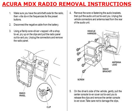free download parts manuals 2010 acura tl instrument cluster repair mdx cd player