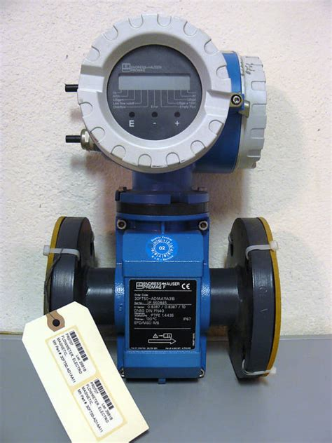 electromagnetic flow meter endress hauser new endress hauser promag 30f electromagnetic flowmeter
