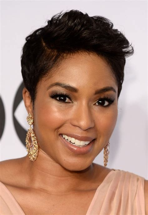 alicia quarles latest hair style african american short side part haircut from alicia