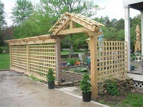 patio trellis patio trellis enclosure for the home pinterest