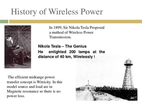 Tesla Wireless Electricity Witricity Electricity Through Wireless Transmission