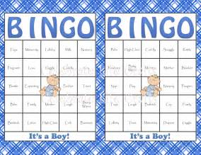 baby shower bingo cards template baby shower bingo template free images