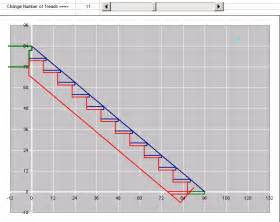 Stair Stringer Thickness by Stair Stringer Design Calculator Spreadsheet Building