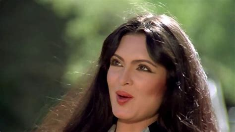 parveen babi film list remembering parveen babi first bollywood star to appear