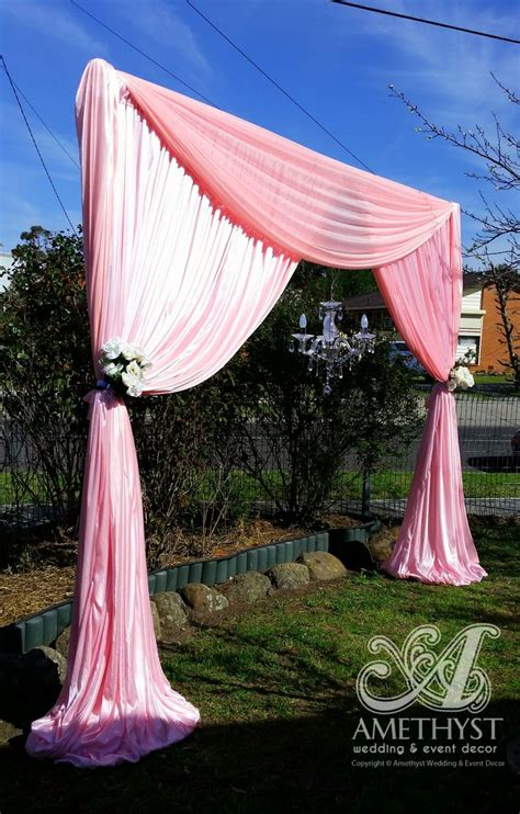 wedding arch drapes 25 best images about wedding backdrops drapes on