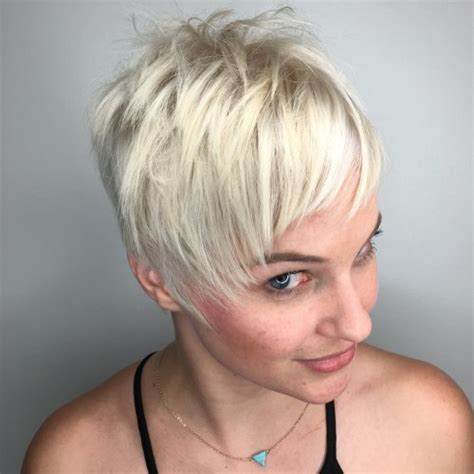 ruffled pixie hairstyle 40 bold and gorgeous asymmetrical pixie cuts